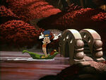 Jiminy fun and fancy free