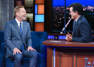 Kenneth Branagh visits Stephen Colbert