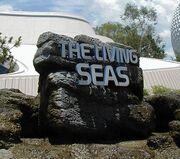 Living seas entrance sign