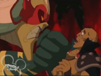 Lord Cedric's angry to Raythor