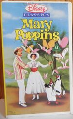 Mary Poppins 1987 UK VHS