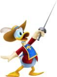 Musketeer Donald