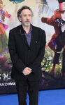 Tim Burton Alice Looking Glass premiere