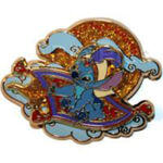Walt Disney Studios Invasion Series (Stitch on a Flying Carpet)