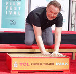 Billy Crystal Chinese Theatre Handprint ceremony
