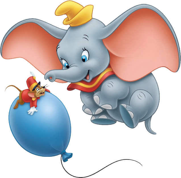 File:Dumbo_baloon on Free Transparent Christmas Frames