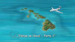 Férias no Havaí (Parte 1) - Cartão do Título