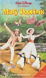 Mary Poppins 1992 AUS VHS