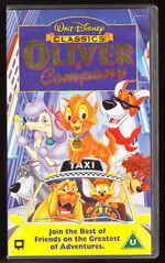 Oliver and Company UK VHS (1997)