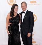 Scott Bakula & Chelsea Field 65th Emmys
