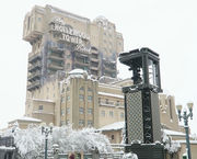 Tower of Terror on Winter at DLRP