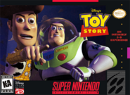 Toy Story Video Game SNES