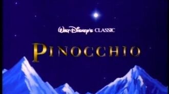 Пиноккио (1940) – трейлер переиздания 1992 года