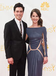 Ben Feldman and wife Michelle Mulitz 66th Emmys