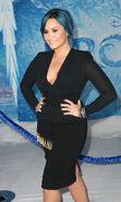 Demi Lovato Frozen premiere