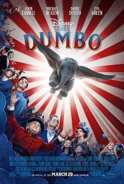 Dumbo Tim Burton Poster
