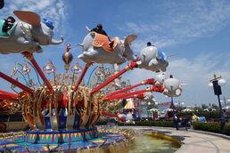 Dumbo the Flying Elephant shanghai