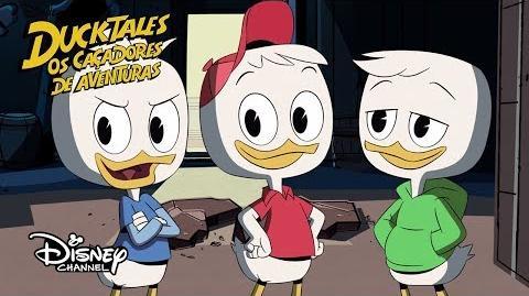 Espiadinha Ducktales os Caçadores de Aventuras