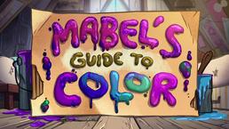 GF Short10 Mabel's kleuren cursus