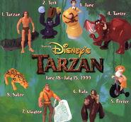 Happy Meal - Tarzan - 1999