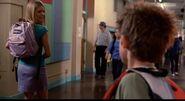Jenna in Hallway