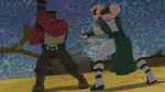 Karnak vs Red Hulk AOS