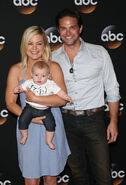 Kirsten Storms Brandon Barrish with daughter Harper