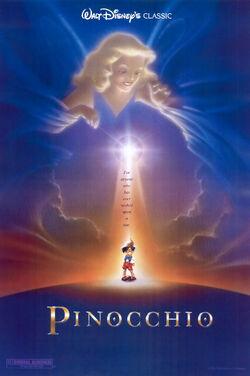 Pinocchio 1992 Re-Release Poster