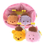 Pooh & Friends Mini Tsum and Flower House Tsum Tsum Stuffed Toy Set