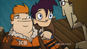 Randy and Howard in Wave Slayers 3