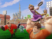 Rapunzel and Wreck It Ralph