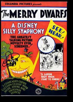 The merry dwarfs poster