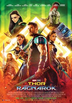 Thor Ragnarok - Pôster Nacional 03