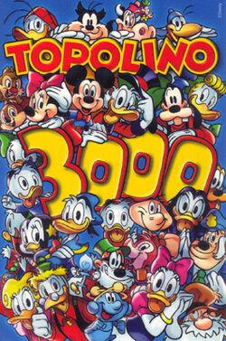 Topolino cover 3000