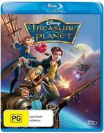 Treasure Planet 2014 AUS Blu Ray