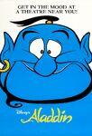 Aladdin Genie Poster
