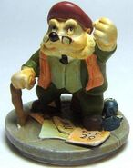Angus MacBadger Figurine