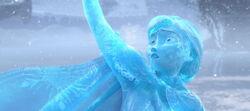 Annas gefrorener Körper