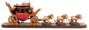 Carruagem Modelo