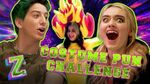 Costume Puns Challenge with Meg and Milo! 👻 ZOMBIES 2 Disney Channel