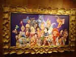 Disney characters portrait 2