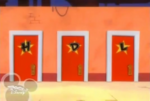 Huey, Dewey and Louie's dressing room doors (HOM)