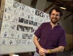 Joe Ranft Nmb4Xmas storyboards