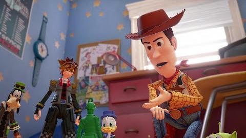 KINGDOM HEARTS III – D23 2017 Toy Story Trailer-0