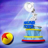 Pixar Play Parade Disneyland