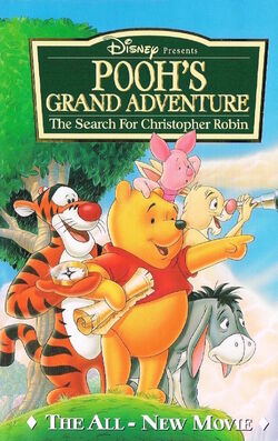 Pooh's Grand Adventure VHS