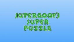 Super Goof's Super Puzzle