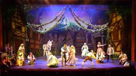 "Tangled The Musical on Disney Cruise Line's Disney Magic ""When She Returns"" new song opener"