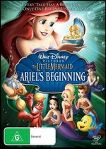 The Little Mermaid Ariel's Beginning 2008 AUS DVD