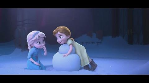 """Snowman"" Clip - The Story of Frozen Making a Disney Animated Classic"